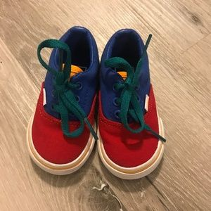 Vans toddlers shoes colorful 3 unisex